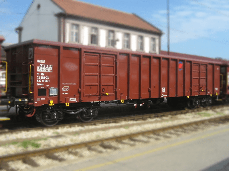 Standard high-sided open wagon