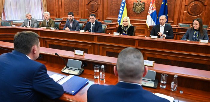 POTPREDSEDNICA VLADE SRBIJE, PROF. DR ZORANA MIHAJLOVIĆ SASTALA SE SA NOVIM MINISTROM TRANSPORTA B I H
